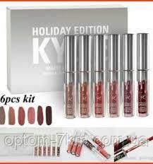 Губная помада Kylie Jenner Lip kit Помада Kylie 8613 Silver Серебро С