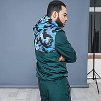 Спортивный костюм. Зелёный. 3 цвета.
