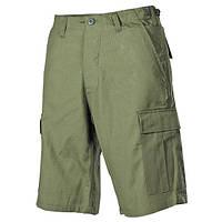 Полевые бермуды (M) американской армии, Rip Stop, тёмно-зелёные MFH 01512B