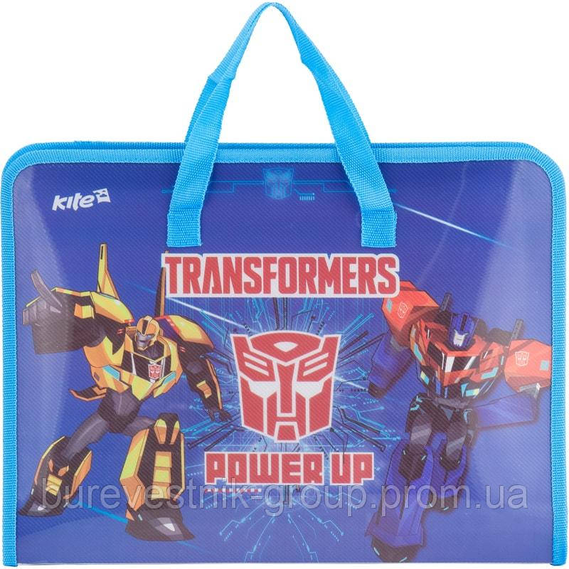 Папка-портфель Kite Transformers, А4 (TF17-202)