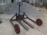 Ручная гидравлическая тележка для бездорожья Rolls Rolls-1500 предназначена для перевозки грузов