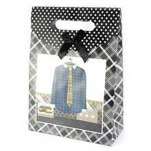 Пакет картонный подарочный Одежда
