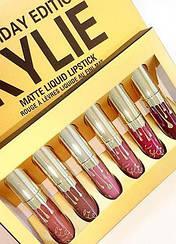 Губная помада Kylie Jenner Lip kit Помада Kylie 8607 Gold Золото С