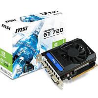 Видеокарта GF GT730K 2Gb DDR3 MSI (N730K-2GD3/OCV1)