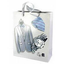 Пакет Одежда подарочный картонный