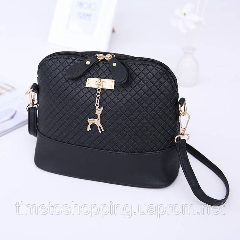 Женская сумка клатч Бэмби. Кроссбоди