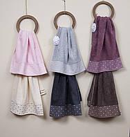 Полотенце махровое Inci Cotton 50х90 разные цвета Cestepe