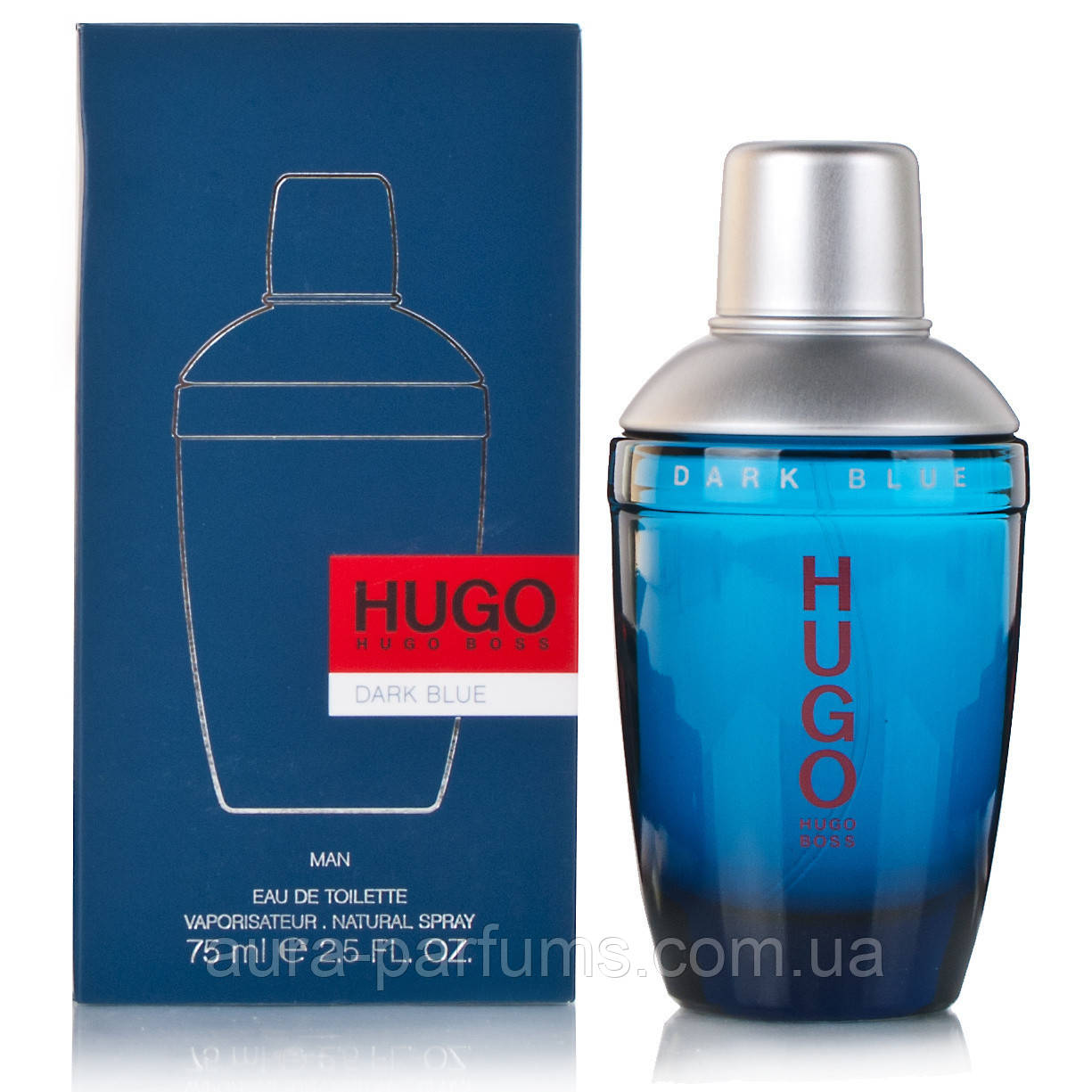 Hugo Boss Hugo Dark Blue edt 75 ml. мужской оригинал