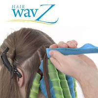 Бигуди спиральные Hair WavZ Хейр Вейвз 16 штук по 31 и 51 см.
