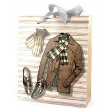 Пакет подарочный картонный