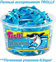 Жевательные конфеты  Акулы Trolli Haifische Sharks 1200 гр. 150шт.