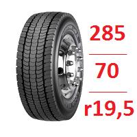 Резина бу 285.70.r19.5