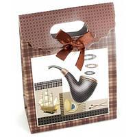 Пакет подарочный Трубка картон