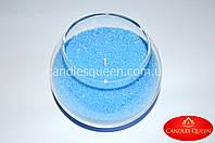 Воск  для насыпной свечи  голубой -  насыпная свеча 1 кг
