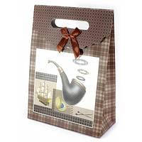Пакет картонный подарочный Трубка