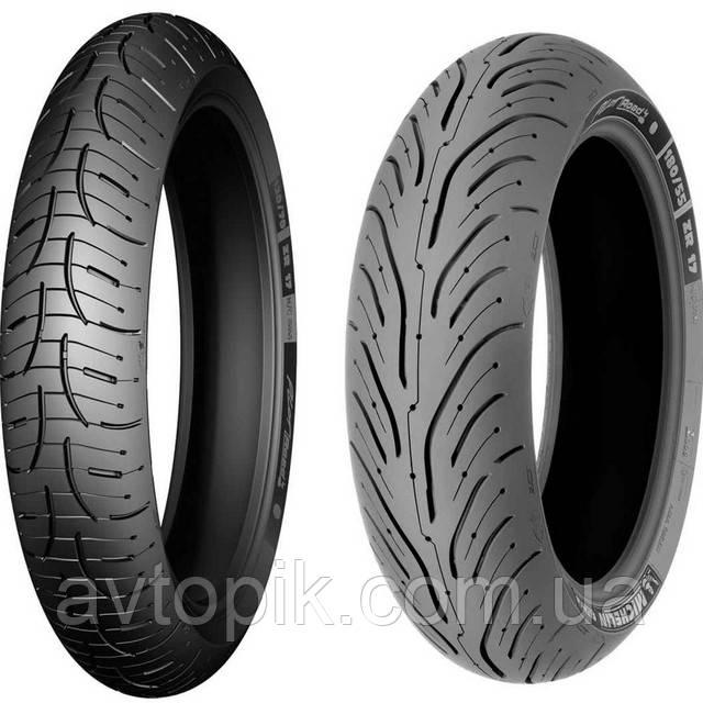 Летние шины Michelin Pilot Road 4 120/70 ZR17 58W