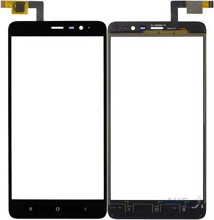 Сенсор (тачскрин) для Xiaomi Redmi Note 3 Pro черный, фото 2