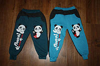 Детские байковые брюки оптом