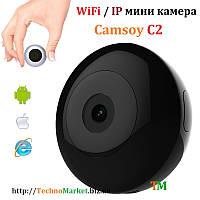 Wi-Fi мини камера CAMSOY С2 с датчиком движения и ночной подсветкой