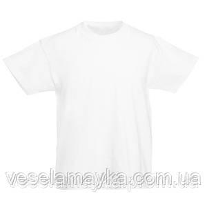 Белая детская футболка (Комфорт)