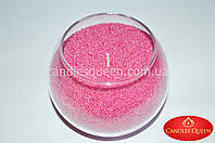 Насыпная свеча розовая 500 г + фитиль