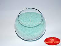Свеча насыпная цвет: мяты  - 500 г.+ фитиль
