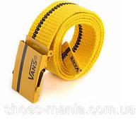 Ремень Vans yellow