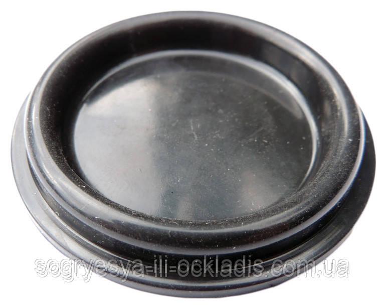 Мембрана водяних блоків Протон 3 і 1 м, Мора, діаметр 50 мм, чорна (гума), артикул 371012, код сайту 1456/1