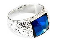 "Кольцо ""Алудра"" с кристаллами Swarovski, покрытое родием (b833f040)"