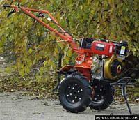 Мотоблок ZUBR XA-31E (НТ-105) 12 колесо- электростартер, дизельный(6,0 л.с.)