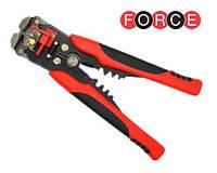 Зачистные клещи проводов, Стриппер кримпер (Force 6805)