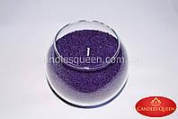 Свеча насыпная цвет: фиолетовый 500 г +фитиль, фото 1