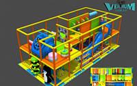 Аттракцион детский игровой лабиринт Новые Горизонты
