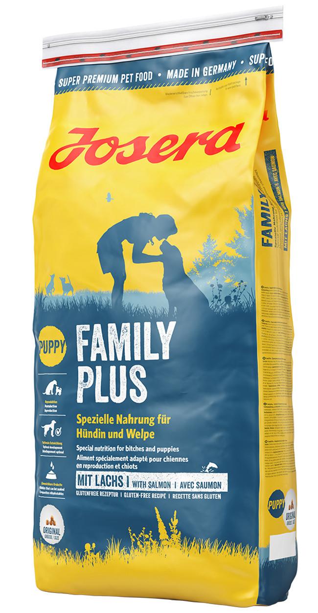 Josera Family Plus 15кг - корм для щенков и беременных и кормящих сук
