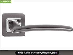 Дверная ручка Metal-bud Linea  графит