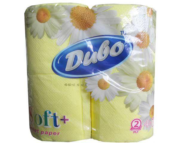 Туалетний папір жовта 4шт. Диво Софт