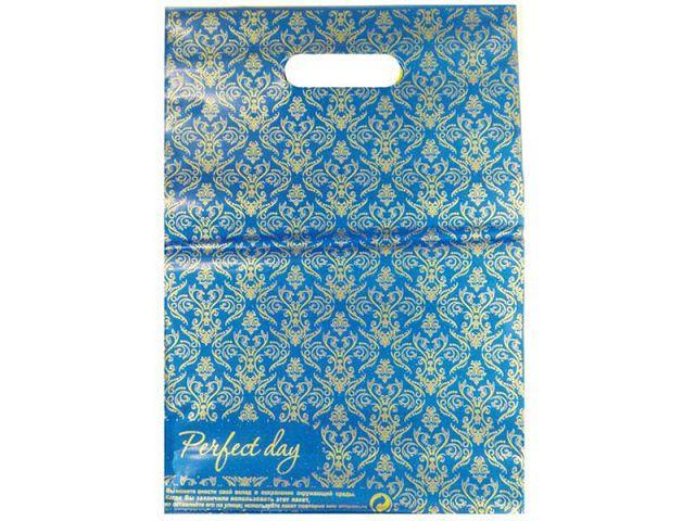 Пакеты с прорезной ручкой 25см 35см Perfekt Day (25 шт)