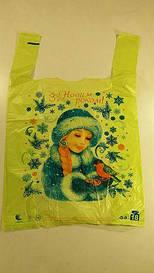 Пакеты майка 29см 47см Снегурочка (250 шт)