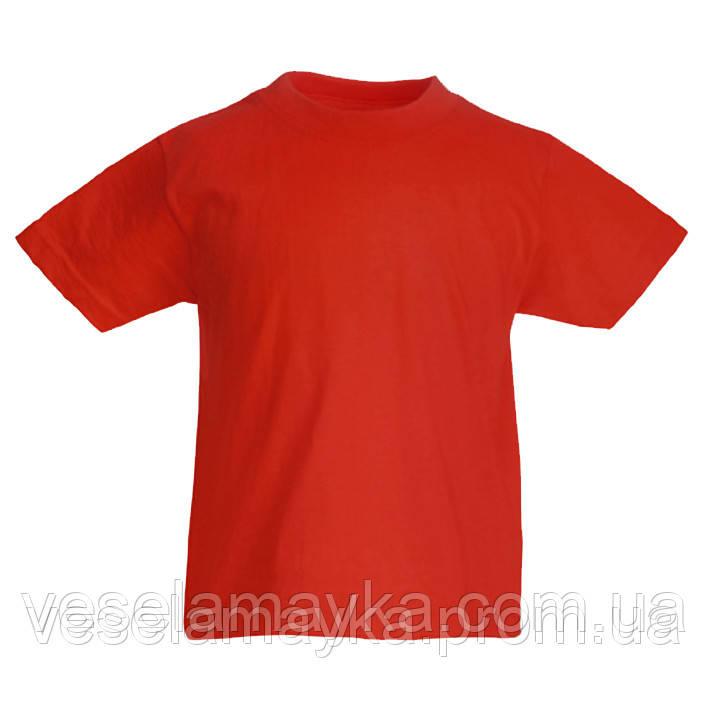 Красная детская футболка (Комфорт)