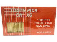 Зубочистки из бамбукового дерева 1000шт Китай (1 пач)