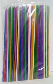 Трубочка Соломка алкогольная прямая d3 25см  Махито микс (500 шт)