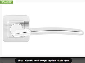 Дверная ручка Metal-bud Linea никель- сатин