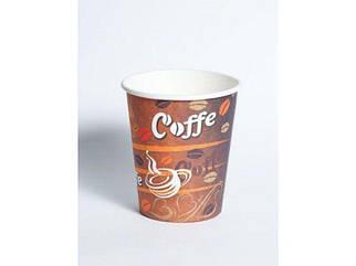 "Стакан бумажный 175мл ""Красные зерна кофе"" Маэстро (50 шт)"