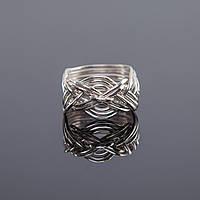 Женское серебряное кольцо головоломка от Wickerring
