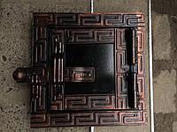 Дверца печная металлическая для чистки сажи 120х120
