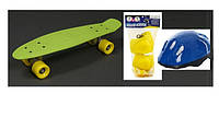 Пенни борд, скейт, скейтборд + шлем и защита! Penny board! БЕСПЛАТНАЯ СБОРКА!