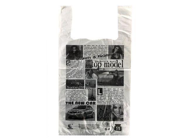 Пакет майка тип FA 30см 55см Газета ''Комсерв'' (100 шт)