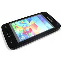 """Китайский самсунг копия Samsung Galaxy S5 экран 4.0"""" 2 sim, Чехол - бюджетный телефон недорого дешево!"""