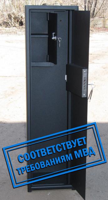Сейф Оружейный СО 1100/2Т для хранения Двух Ружей высотой до 1080 мм с отделением для патронов - Фермеру в помощь в Виннице