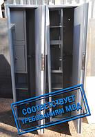 Сейф Оружейный Усиленный СО 1400У/2ТТП для хранения Двух Ружей высотой до 1380 мм с двумя трейзерами и полками